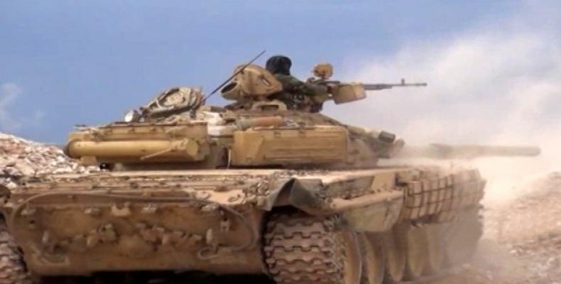 Ejército sirio aumenta la ofensiva en Hama y Daraa. (Foto: sana.sy)