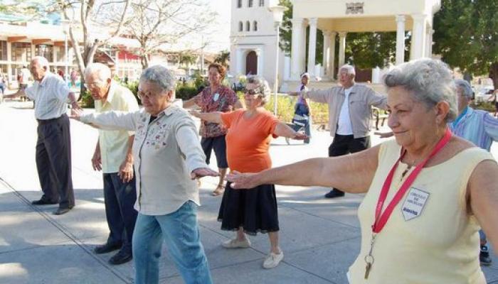 Villa Clara, La Habana y Sancti Spíritus continúan siendo los territorios cubanos que tienen más cantidad de ancianos. Fotos: Archivo
