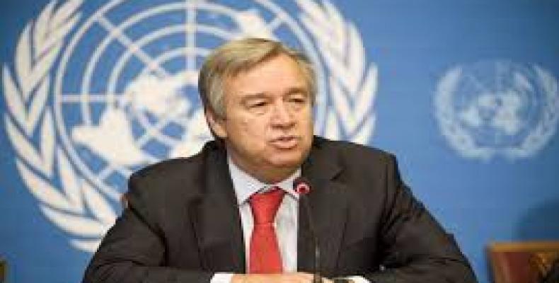 Secretario general de las Naciones Unidas, Antonio Guterres