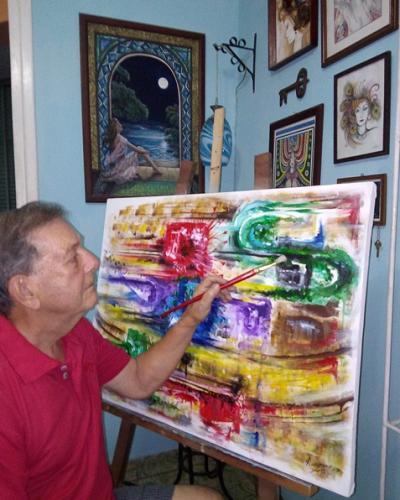 Armando ama la vida, su Cuba, La Habana y el arte. Fotos: Cortesía del artista