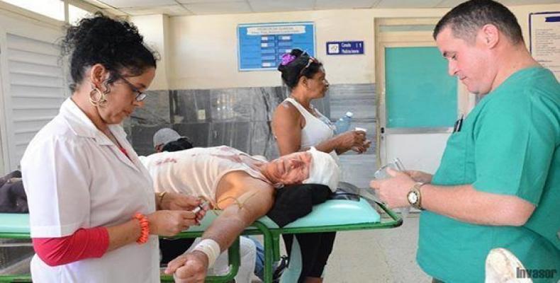 Accidente de ómnibus en Ciego de Ávila ocasiona 35 lesionados.Foto:Nohema Díaz/Invasor