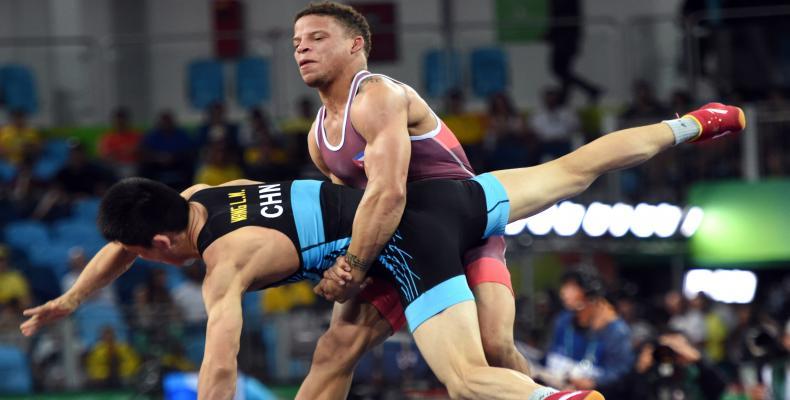 El campeón olímpico Ismael Borrero. Foto: archivo