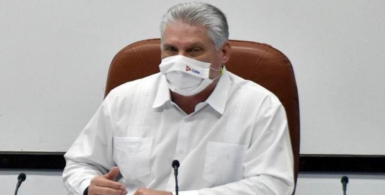 Miguel Díaz-Canel, prezidento de la Respubliko