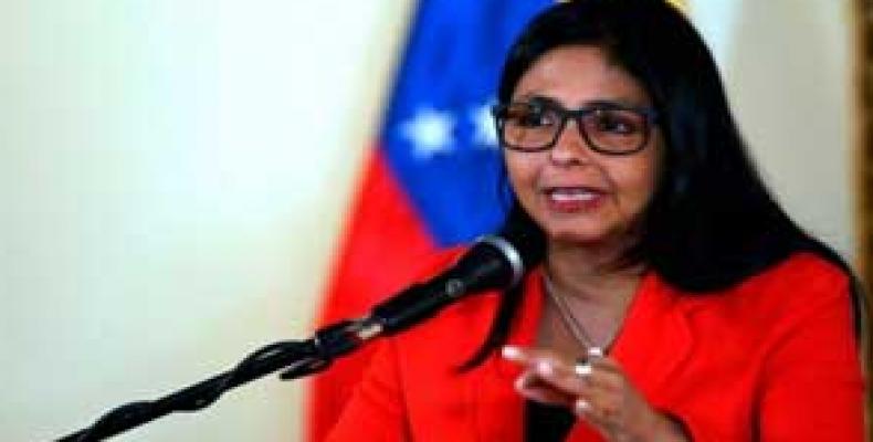 Canciller de Venezuela, Delcy Rodríguez
