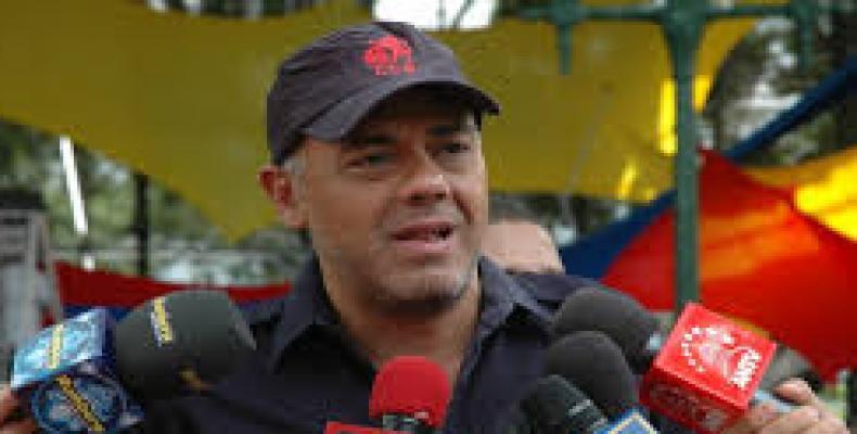 Jorge Rodríguez, alcalde Caracas