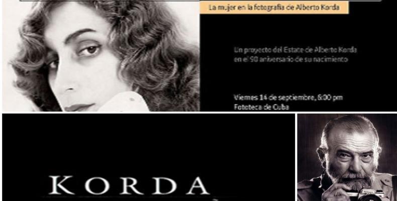 Una exposición del patrimonio de Alberto Korda en homenaje al 90 aniversario de su nacimiento quedará abierta en la Fototeca de Cuba.Imágen:PL.