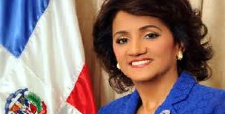 Candida Montilla, Primera Dama de República Dominicana