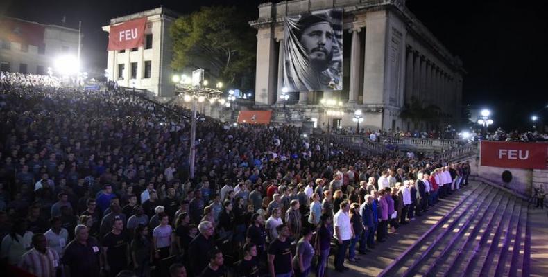 Foto: Tomada del Twitter de @PresidenciaCuba.