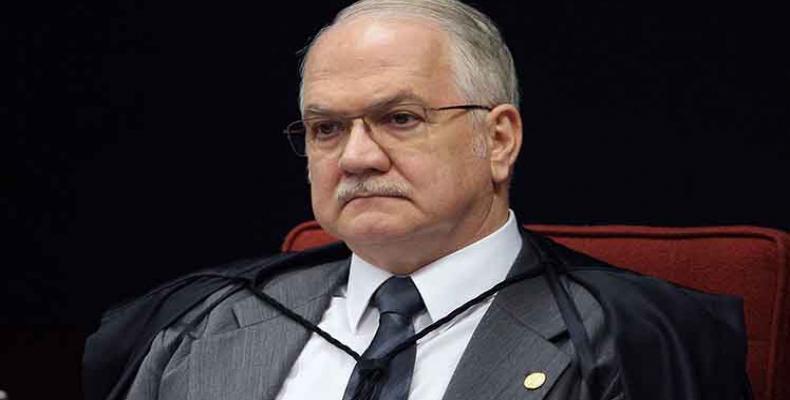 Edson Fachin, ministro del Supremo Tribunal Federal