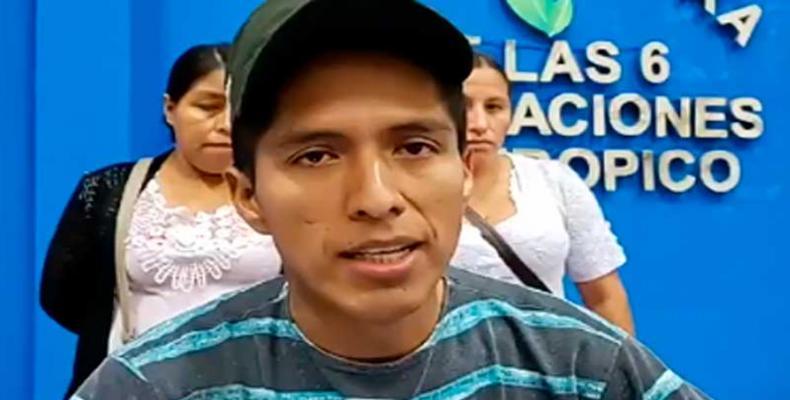 Dirigente opositor Andrónico Rodríguez