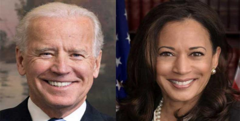 La senadora Kamala Harris figura como una de las principales contendientes para ser la compañera de fórmula de Joseph Biden. Foto: PL.