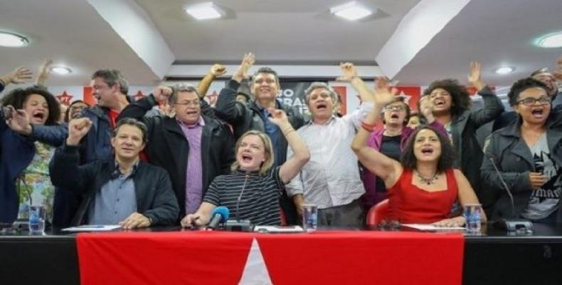 PT and PCdoB have confirmed a left-wing coalition candidacy for the upcoming October presidential elections.   Photo: Ricardo Stuckert