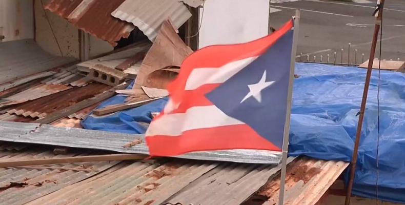 U.S. federal aid to Puerto Rico weak after Hurricane Maria.  Photo: EFE