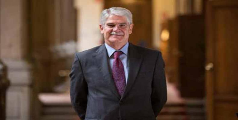 Minister of Foreign Affairs and Cooperation for Spain, Alfonso María Dastis Quecedo
