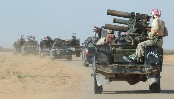 Conflicto bélico en Libia