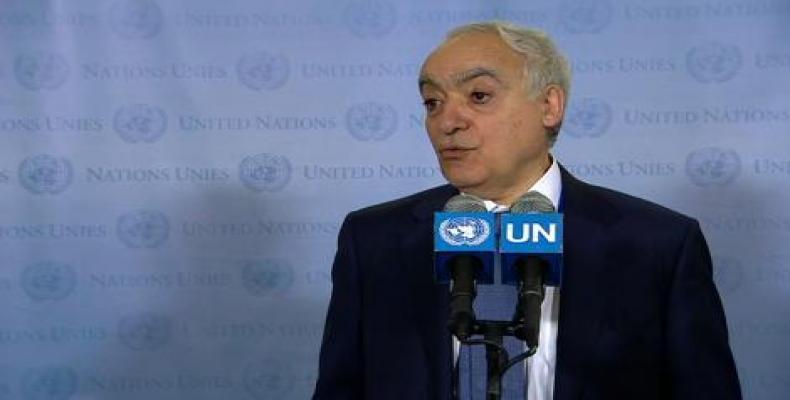 La ĝenerala sekretario de UN por Libio, Ghassan Salamé