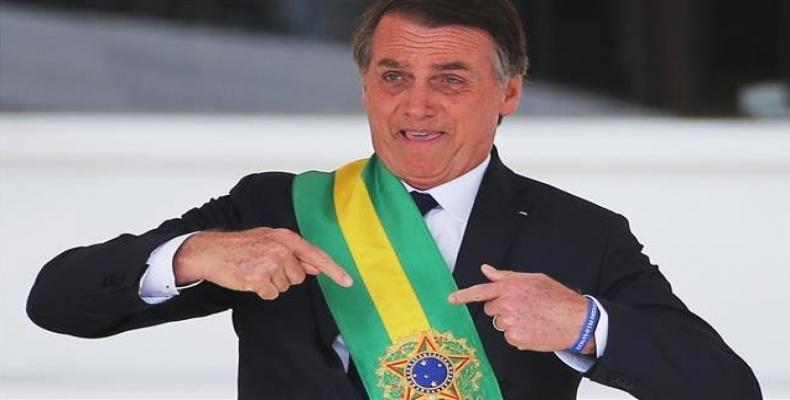 Brazil's President Jair Bolsonaro.   Photo: Reuters