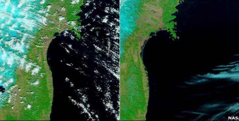 Imagen tomada por la NASA.