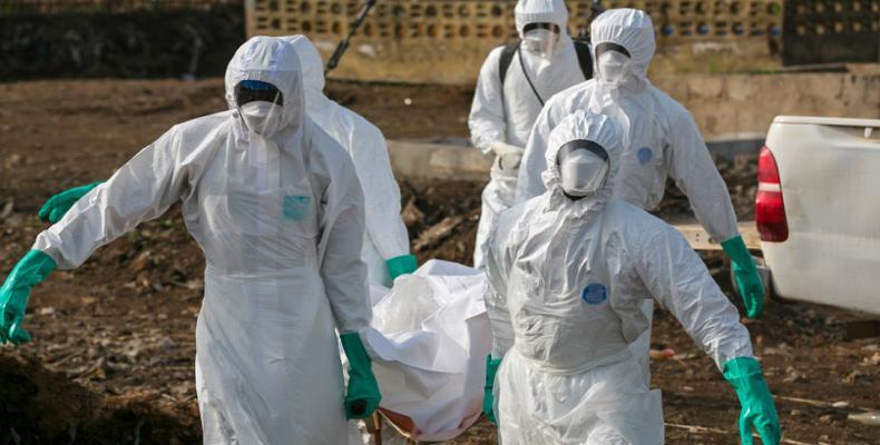 Lucha contra el ébola en el Congo
