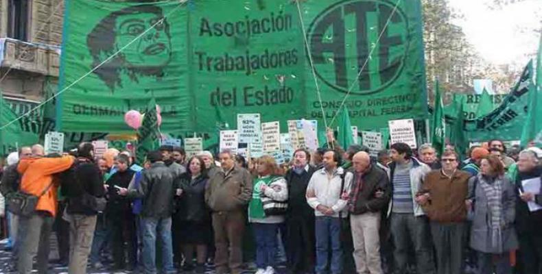 Marcha de protesta en Buenos Aires
