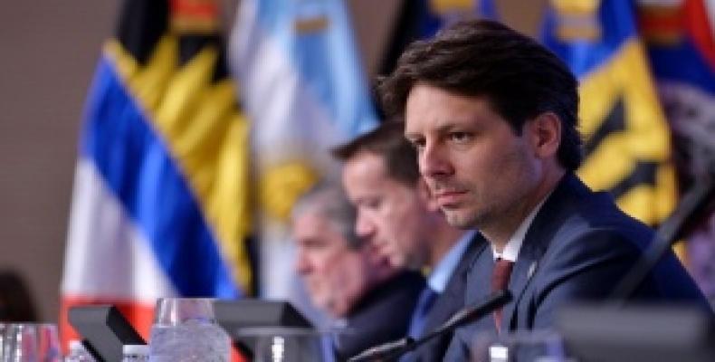 Ecuadorean Foreign Minister Guillaume Long