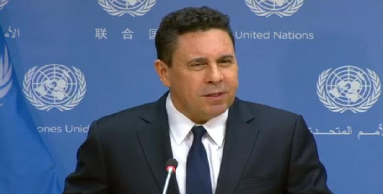 The Venezuelan ambassador to the UN has requested the intervention of the Security Council (Photo: teleSUR)