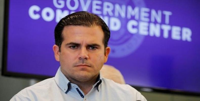 Puerto Rican Governor Ricardo Rosello