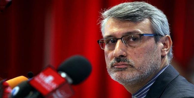 Iranian Ambassador to London Hamid Baeidinejad.  Photo: Press TV