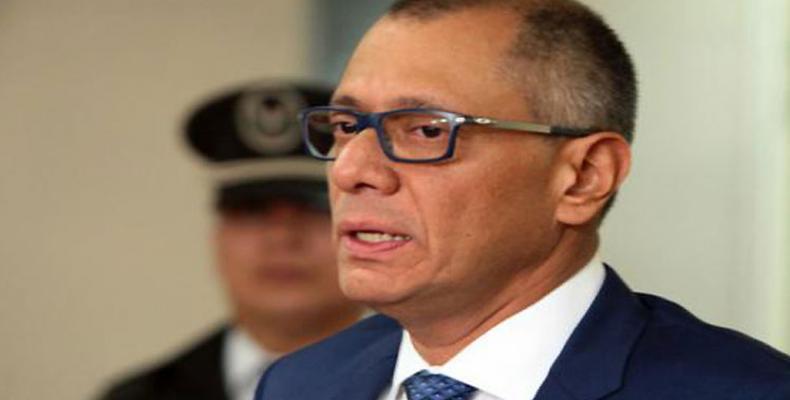 Jorge Glas, exvicepresidente ecuatoriano