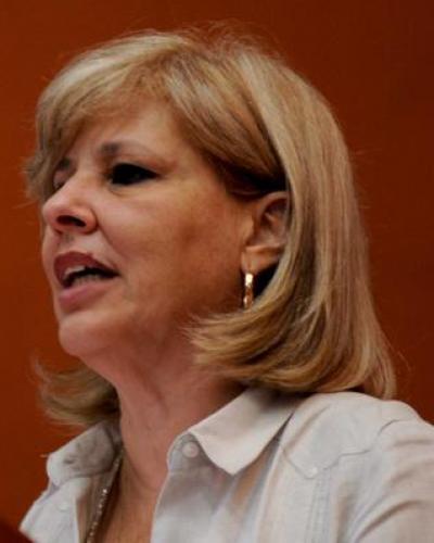 La viceministra hizo el llamamiento durante el Encuentro Internacional de Solidaridad con Cuba. Foto: Omara García/ACN