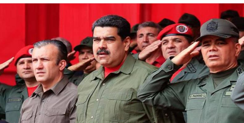 President Nicolas Maduro attends year-end ceremony for Venezuela's Bolivarian National Armed Forces  in Caracas, December 28 (PL Photo))