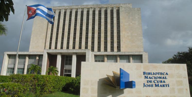 Biblioteca Nacional de Cuba. Sede de la reunión
