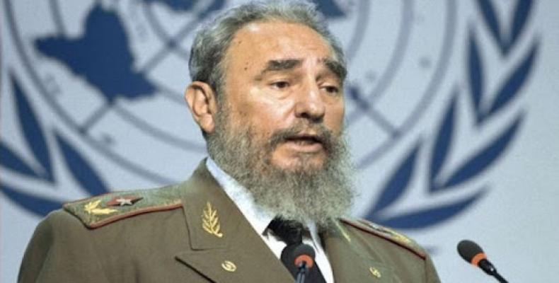 Fidel alertó al mundo de los peligros ambientales.