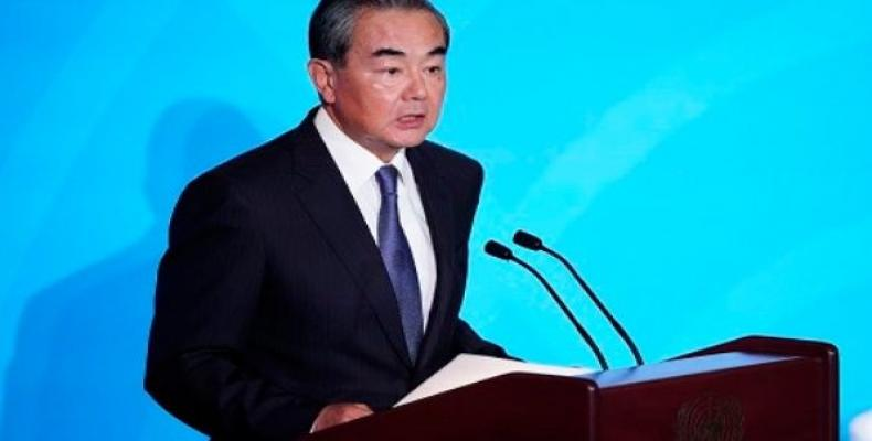 China's State Councilor and Special Representative Wang Yi. (Photo: Reuters)