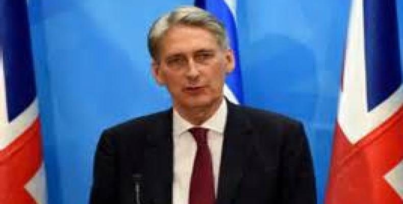 Philip Anthony Hammond, Secretary of State for Foreign and Commonwealth Affairs of the United Kingdom of Great Britain and Northern Ireland