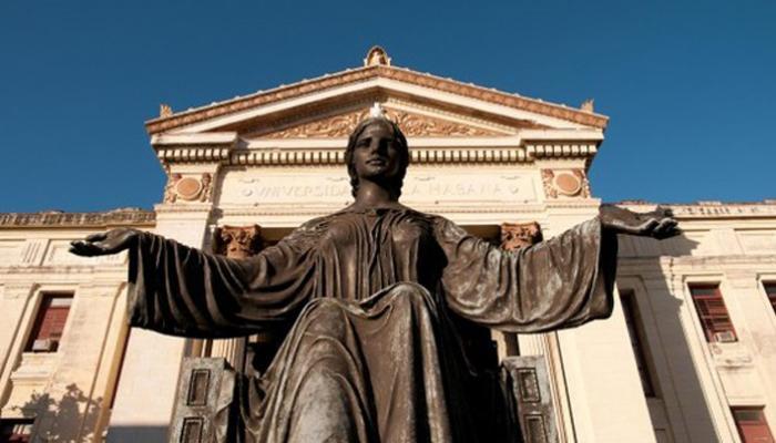 La Universidad de La Habana siempre tendrá las puertas abiertas para el intercambio académico.Foto:Archivo.