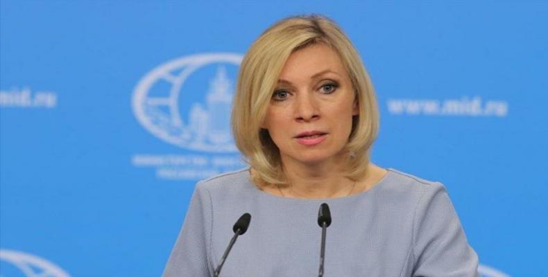 Russian Foreign Ministry Spokesperson, Maria Zakharova. File Photo.