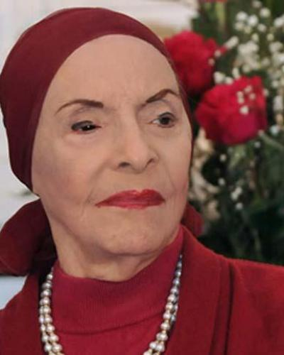 La legendaria artista ostentaba el Premio Estrella del Siglo, otorgado por el Instituto Latino de la Música. Fotos: Archivo