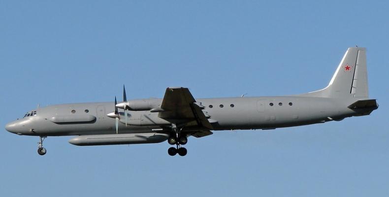 La rusa aviadilo IL-20
