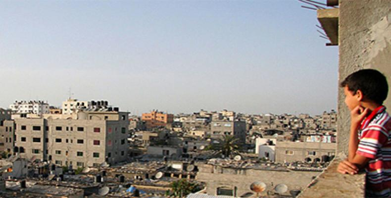 A view of Jabalia refugee camp. Jabalia is the largest of the Gaza Strip's eight refugee camps. It is located north of Gaza City. UN Photo