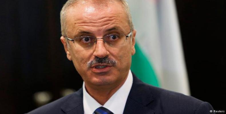 Primer ministro palestino Rami Hamdallah. (Reuters)