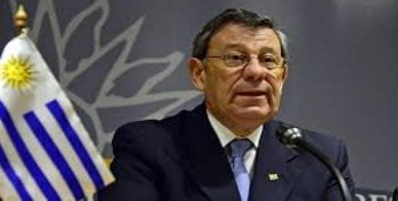 Rodolfo Nin Novoa, Uruguay's Minister of Foreign Affairs.  (Photo: teleSUR)