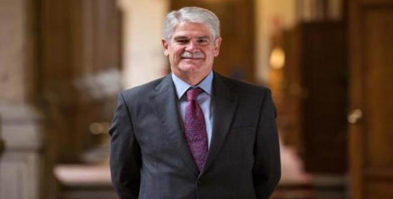 Minister for Foreign Affairs and Cooperation of Spain, Alfonso María Dastis Quecedo