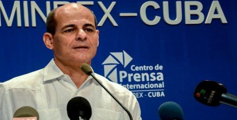 Cuban deputy minister of Foreign Affairs, Rogelio Sierra. File Photo