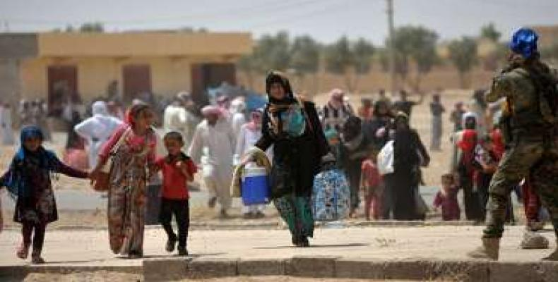 140 000 personas abandonaron sus casas en la ciudad iraquí de Mosúl
