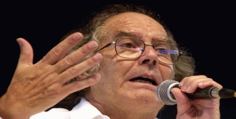 Imagen ilustrativa del Premio Nobel de la Paz Adolfo Pérez Esquivel. (Foto/mx.tuhistory.com)