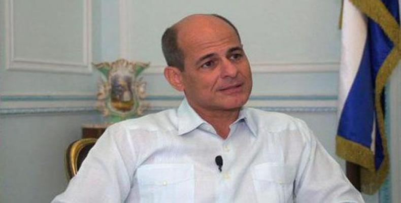 Cuban Deputy Foreign Minister Rogelio Sierra