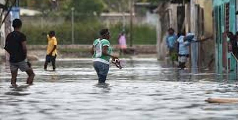 Daños del ciclón Matthew a territorio haitiano