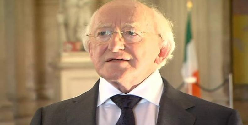 President of Ireland  Michael D. Higgins