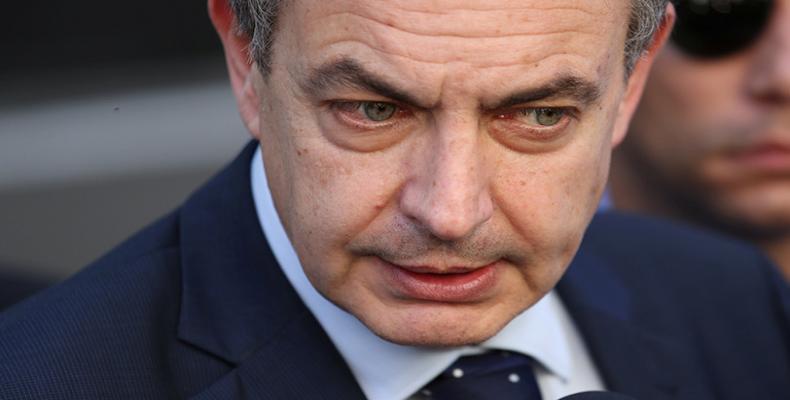 Expresidente del Gobierno de España José Luis Rodríguez Zapatero
